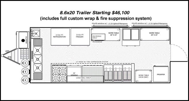 Concession trailers shop mobile food trailers for sale join 86x20 polished trailer asfbconference2016