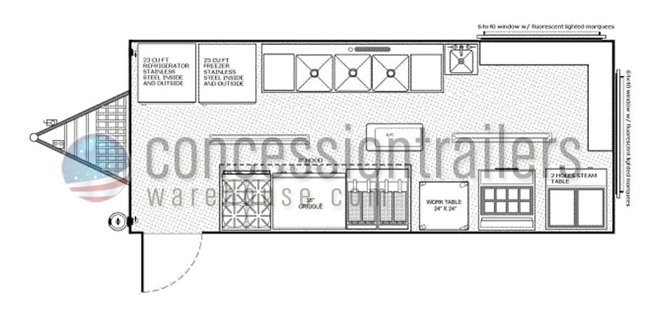 Concession trailers designs joy studio design gallery for Food truck design plan