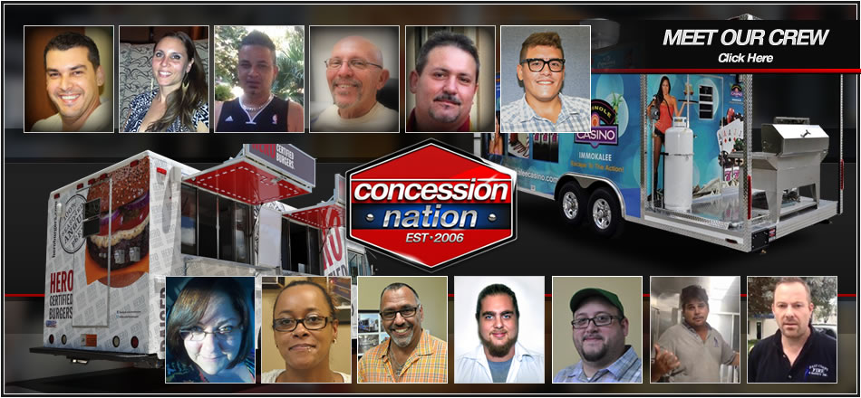 Concession Nation - Meet Our Crew
