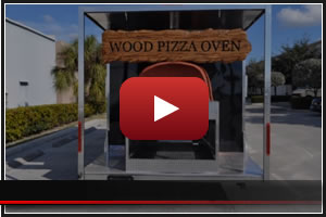 Brick Oven Pizza Trailers - Custom